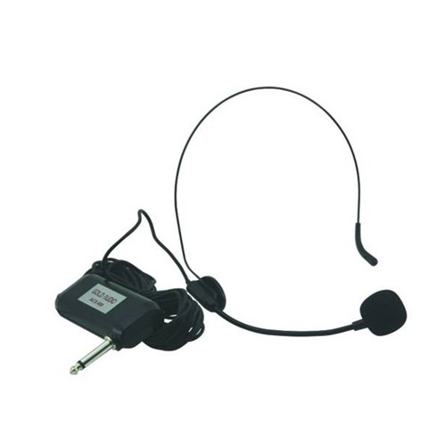 Gold Audio Acs-400 Kablolu Kafa Headset Mikrofon