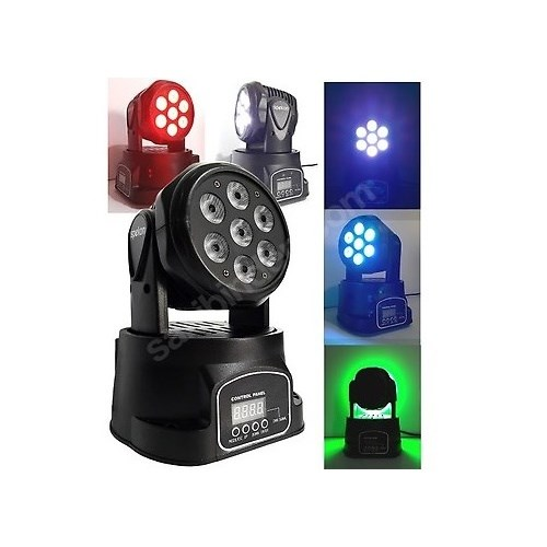 Stager Wash-74 - 7x10 Watt Moving Head Robot Işık