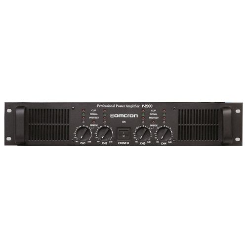 Startech Omcron P-2400 Power Amfi 2x1200 Watt
